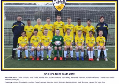 Youth Under 13
