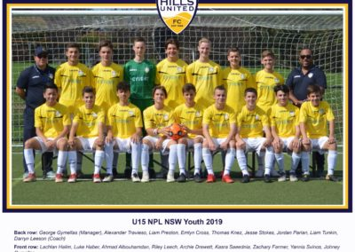 Youth Under 15